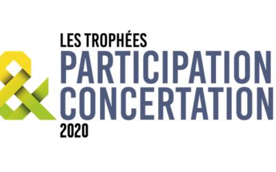 Chêne Vert Conseil et Réseau Cristal,  Lauréats des Trophées de la Concertation et de la Participation 2020 remis par le think-tank Décider Ensemble